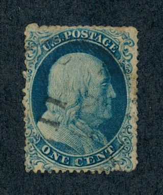 Drbobstamps Us Scott 19 Rare Stamp W/pf Cert Scv $9000