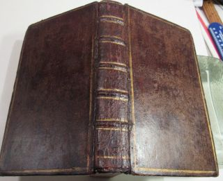 Travels In Europe Asia And China/ 1693/ Rare 1st Edition In English/orig.  Leather