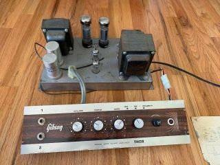 Gibson Thor 1967 - 68 Bass 50 Tube Amplifier Vintage El34 6eu7
