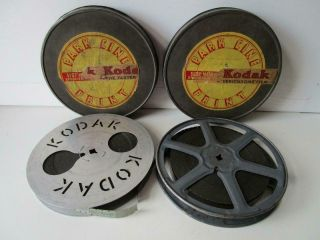 Vintage 16mm Film On 2 Reels When East Went West B/w Silent