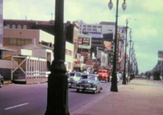 Vintage 1940s Home Movie on 16mm COLOR Film.  Trip to Orleans,  LA. 2