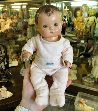 1930's Effanbee Composition Patsy Baby Doll Sweet Pink Outfit Just The Cutest