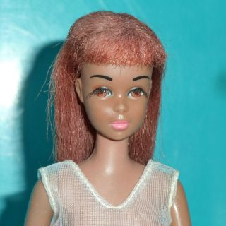 Rare First Issue Black / Colored Francie Barbie Doll W/vhtf Swimsuit