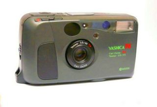 Rare: Yashica T4 (green),  Carl Zeiss T Lens.  Almost,  Hardly.