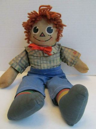 """Raggedy Andy Mollye - 13 """" Previously Owned"""
