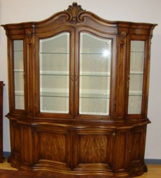 Karges Dining Room China Cabinet / Breakfront With