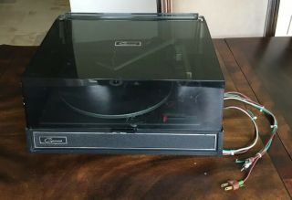Vintage Garrard Turntable Model 30 Record Player Great