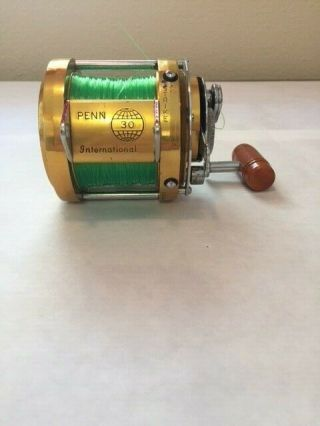Vintage Penn International 30 Big Game Trolling Reel