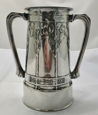 Magnificent Early Liberty & Co Tudric Loving Cup By David Veasey 010