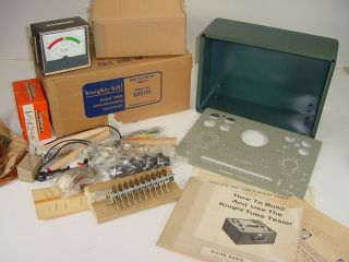 Vintage Nos Knight Kit Allied Radio Heathkit Eico Bench Tube Tester Unbuilt Kit