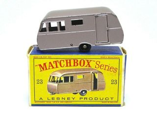 Matchbox Lesney No.  23c Bluebird Dauphine Caravan In