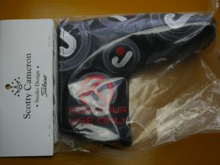 Scotty Cameron Japan Tour Only Dancing Circle J Leather Headcover Rare