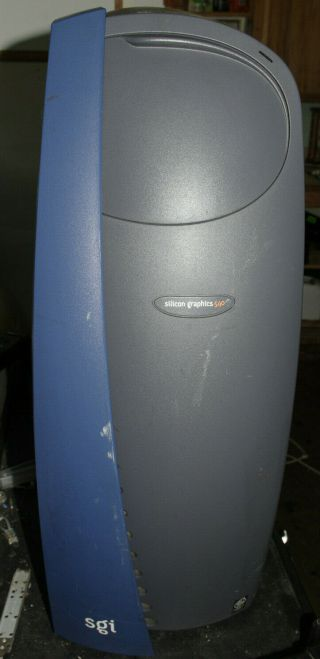 Silicon Graphics Sgi 540 Vintage Workstation Quad Xeon