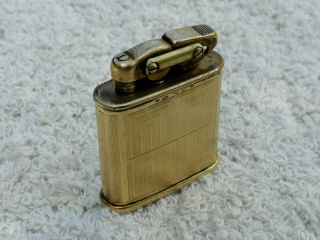 Kw Karl Wieden 1930s Art Deco Pocket Lighter 14k 585 Gold Sleeve - Very Rare