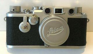 Vintage Leica Drp Ernst Leitz 6mbh Camera - Wetzlat Germany - 35mm