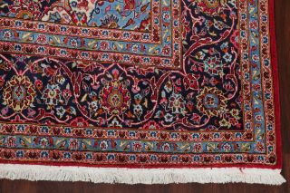Vintage Traditional Floral Oriental Area Rug Hand - Made Large Living Room 10x14