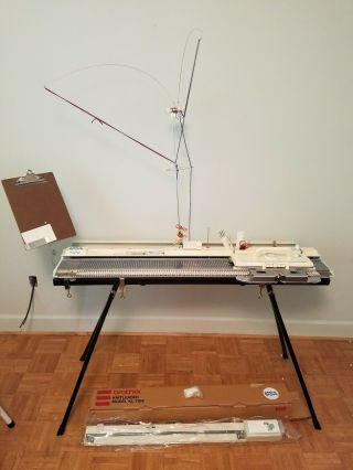 Vintage Eleganza Brother Kh - 260e Knitting Machine,  See The Photos Nr