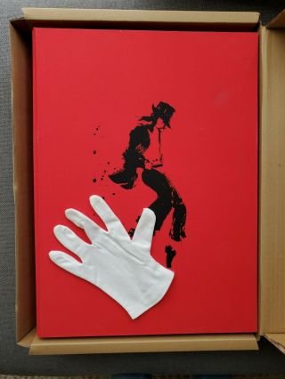 Michael Jackson Opus With Glove - Rare In - Memorabilia