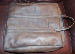 Vintage Apple Ii Computer Leather Carrying Bag Case