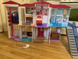 Barbie Doll Dpx21 Hello Dreamhouse With Sounds