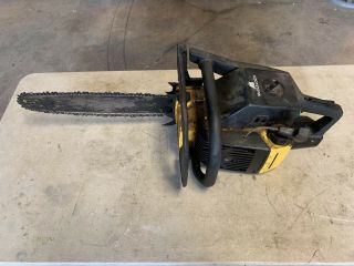 Vintage Mcculloch (pro Mac 610) Chainsaw (for Parts/repair)