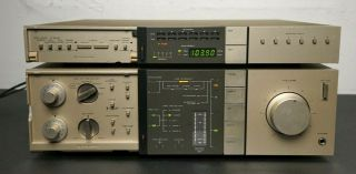 Vintage Pioneer A - 7 A7 Stereo Amplifier Amp And Digital Synthesized Tuner F - 9 F9