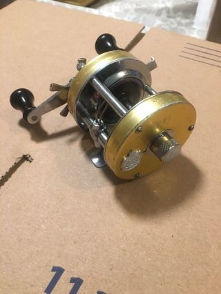 Rare Abu Garcia Ambassadeur Gold 5500 Fishing Reel 770200 Hard To Find