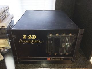 Vintage 1977 Cromemco Z - 2 Computer System Terminal With Cards