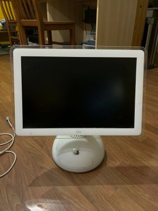 Vintage Apple Imac G4/1.  25 20 - Inch M9290ll/a With Power Cord And Box