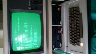 Vintage Apple Ii Computer -