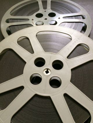 Movie 16mm TWO LOST WORLDS Feature Vintage 1951 Drama Film Horror Sci - Fi 3