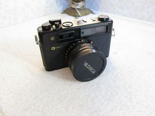 Vintage Yashica Electro 35 Gtn 35mm Range Finder Film Camera With 50mm F1.  7 Lens