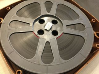 "16 Mm "" Girl Shy "" (1924) Silent 2 - Reel Vintage Film In Locking Box"