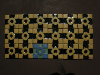 18 Vintage 3x3 Grueby Faience Tiles Arts And Crafts
