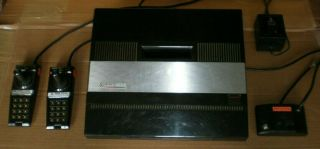 Vintage Atari 5200 4 - Port With 2 Controllers All Cords And 18 Games.  Wow