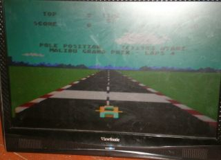 Vintage Atari 5200 4 - Port With 2 Controllers All Cords And 18 Games.  WOW 3