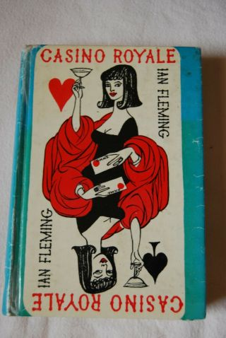 Vintage 1968 Ian Fleming Casino Royale Hardback Book With Dust Cover