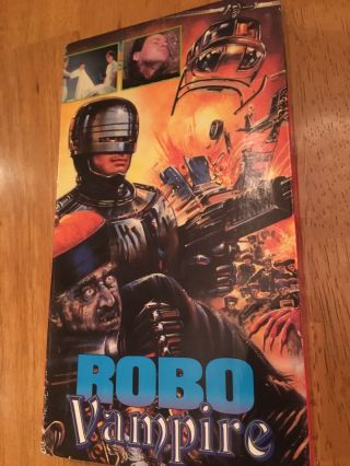Robo Vampire (vhs 1993) Magnum Video.  Front Row Entertainment Rare Oop Vhs