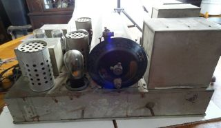 Vintage Grigsby - Grunow Majestic Electric Radio Receiver Model 90 - B W/tubes Parts