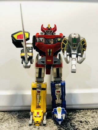 Rare 2015 Mighty Morphin Power Rangers Legacy Megazord Diecast Complete