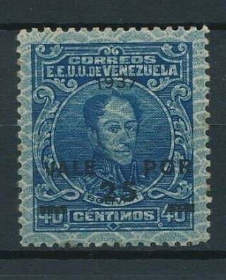 [3428] Venezuela 1937 Rare Stamp Very Fine Mnh And Signed