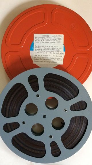 X22 16mm Trailers Jaws Vintage Film Movie Thriller Classic