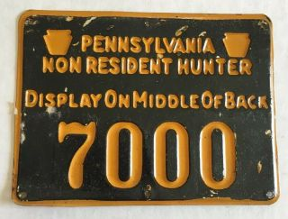 Pa Non Resident Metal Hunting License
