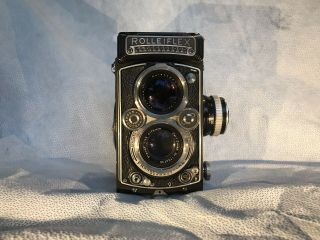 Rolleiflex Twin Lens Reflex 3.  5e Planar - 2.  8 Lenses With