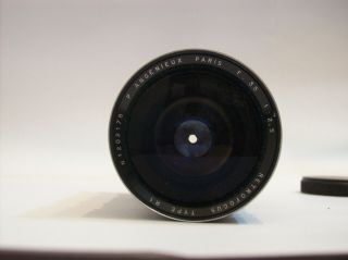 VERY RARE P.  ANGENIEUX 2.  5/35 FUNCTIONAL 35MM 2.  5 M39 LEICA MOUNT MADE WIDE LENS 10