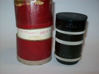 VERY RARE P.  ANGENIEUX 2.  5/35 FUNCTIONAL 35MM 2.  5 M39 LEICA MOUNT MADE WIDE LENS 11