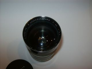 VERY RARE P.  ANGENIEUX 2.  5/35 FUNCTIONAL 35MM 2.  5 M39 LEICA MOUNT MADE WIDE LENS 3