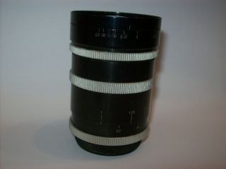 VERY RARE P.  ANGENIEUX 2.  5/35 FUNCTIONAL 35MM 2.  5 M39 LEICA MOUNT MADE WIDE LENS 6