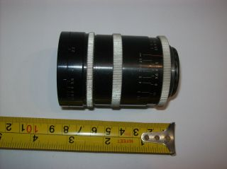 VERY RARE P.  ANGENIEUX 2.  5/35 FUNCTIONAL 35MM 2.  5 M39 LEICA MOUNT MADE WIDE LENS 7