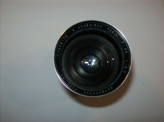 VERY RARE P.  ANGENIEUX 2.  5/35 FUNCTIONAL 35MM 2.  5 M39 LEICA MOUNT MADE WIDE LENS 9
